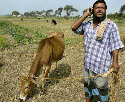 Spoken Web Services for Farmers in India
