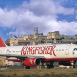 A Kingfisher Airlines carrier