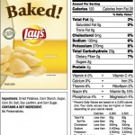 "Lays ""Baked"" Potato Wafers"