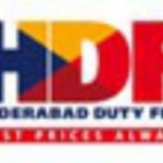 Hyderabad Duty Free HDF Logo
