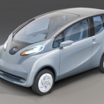 Tata Electric Car Emo Pictures - Front View