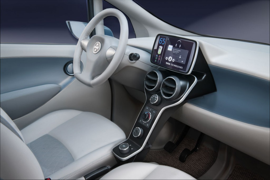Tata Electric Car Emo Pictures - Interiors