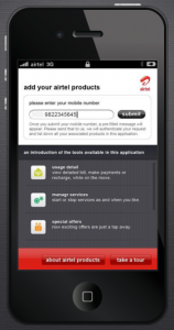Airtel MyApp - Number Registration