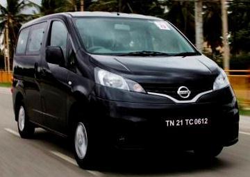 Nissan Evalia MUV India Pictures