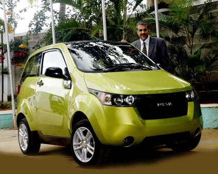 Electric Car Mahindra Reva NXR Features, India Price, Pictures