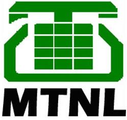 MTNL Mahanagar Telephone Nigam Limited Logo