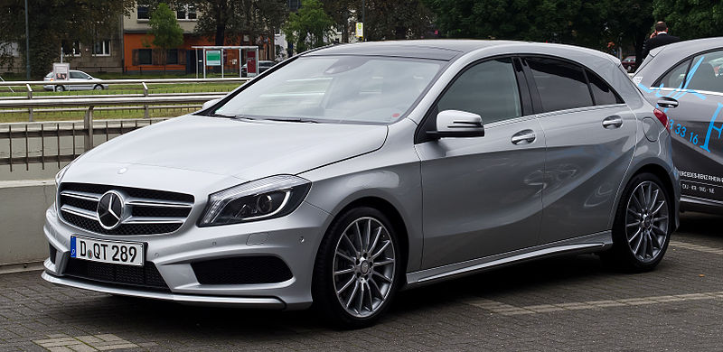 Mercedes Benz A Class - India Pictures
