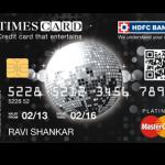 HDFC Times Card