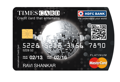 Hdfc bank times internet launch the times credit card hdfc times card reheart Gallery