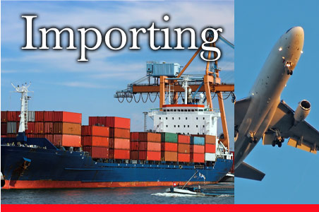 Import goods to India